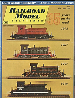 RAILROAD MODEL CRAFTSMAN, JULY 1974 (Image1)