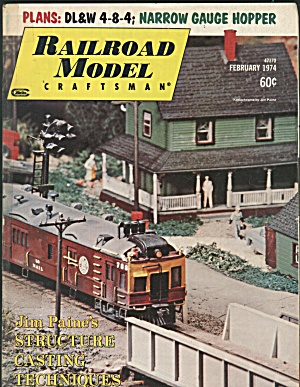 RAILROAD MODEL CRAFTSMAN, FEBRUARY 1974 (Image1)