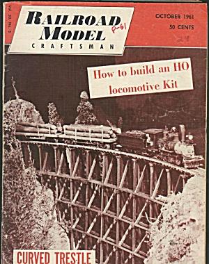 RAILROAD MODEL CRAFTSMAN, OCTOBER 1961 (Image1)