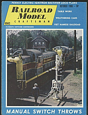 RAILROAD MODEL CRAFTSMAN, OCTOBER 1966 (Image1)