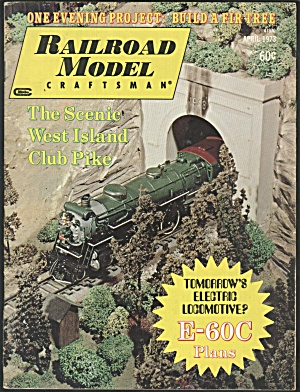RAILROAD MODEL CRAFTSMAN, APRIL 1973 (Image1)