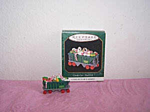 HALLMARK KEEPSAKE ORNAMENT CANDY CAR-NOEL R.R.1997 (Image1)