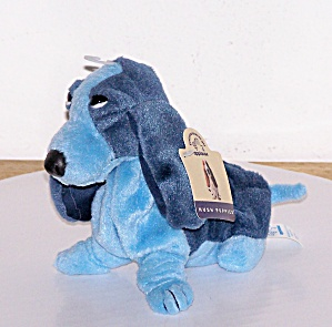 HUSH PUPPIES BLUE HOUND DOG BEANIE (Image1)