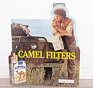 1985 CAMEL FILTERS TIN SIGN  (Image1)