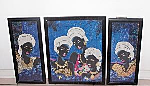 3 BLACK ISLANDERS PRINTS (Image1)