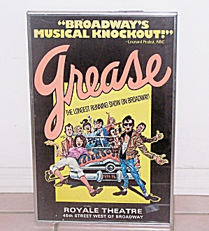 GREASE, ROYALE THEATRE POSTER (Image1)