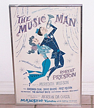 The Music Man, Majestic Theatre Poster