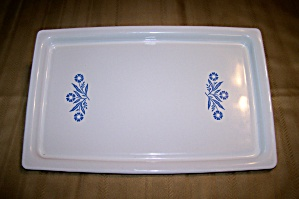 CORNING WARE CORNFLOWER BLUE BROIL/BAKE TRAY (Image1)
