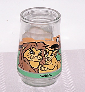 WELCH'S LION KING, CIRCLE OF LIFE GLASS (Image1)