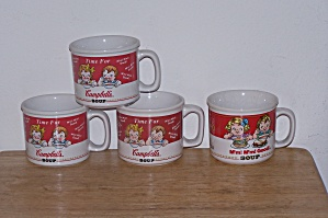 4 CAMPBELL'S SOUP MUGS (Image1)