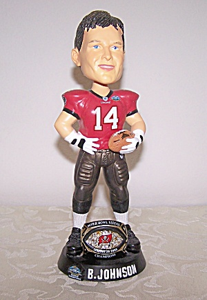 B. JOHNSON, BUCS BOBBLE HEAD DOLL (Image1)