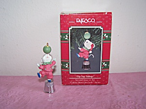 Enesco Tip-top Tidings Ornament