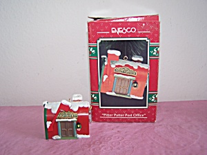 ENESCO PITTER PATTER POST OFFICE ORNAMENT (Image1)