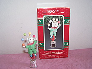 Enesco Jugglin' The Holidays Ornament