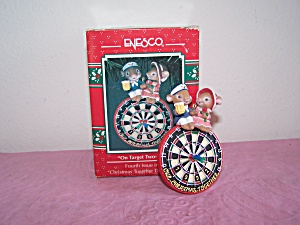 ENESCO ON TARGET TWO-GETHER ORNAMENT (Image1)