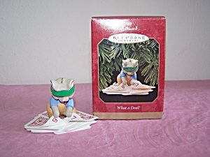 HALLMARK WHAT A DEAL! ORNAMENT (Image1)