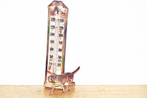 Metal Dog Thermometer
