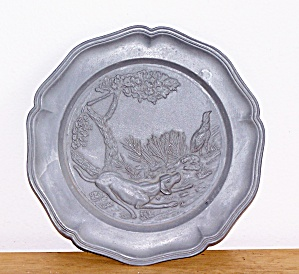 Hunting Dog & Pheasant Plate