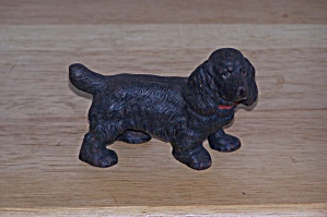 Metal Cocker Spaniel, Dark Color