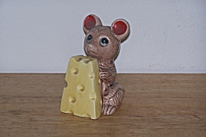 Mouse & Cheese Salt & Pepper Shakers