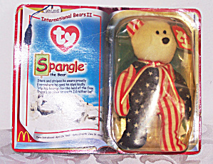 Ty Spangle The Bear, Teenie Beanie Baby