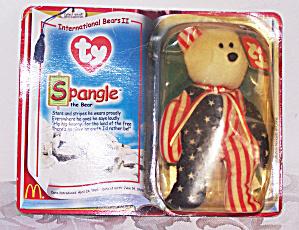TY SPANGLE THE BEAR, TEENIE BEANIE BABY (Image1)