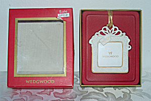 Wedgwood Picture Frame In Orig. Box, First Christmas