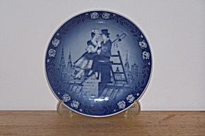 The Shepherdess & The Chimney Sweep Plate, 1983