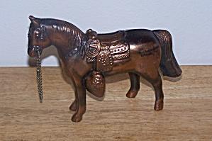 METAL HORSE SOUVENIR BANK - PA. (Image1)