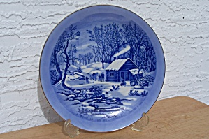 CURRIER & IVES, A HOME IN THE WILDERNESS, PLATE (Image1)