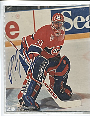 PATRICK J. ROY, AUTOGRAPHED PHOTO, MONTREAL CANADIANS  (Image1)