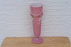 PINK BRISTOL GLASS VASE (Image1)