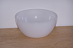 Pair Of Federal Milk Glass Bowls