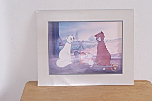 Disney's The Aristocats 1996 Lithograph