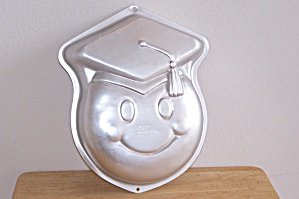 Wilton Smiley Grad Cake Pan