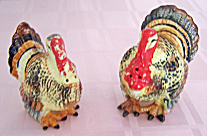 Pr. Turkey Salt & Pepper Shakers