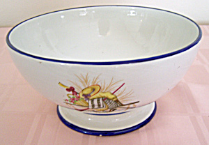 DECORATED BOWL FROM ITALY (Image1)