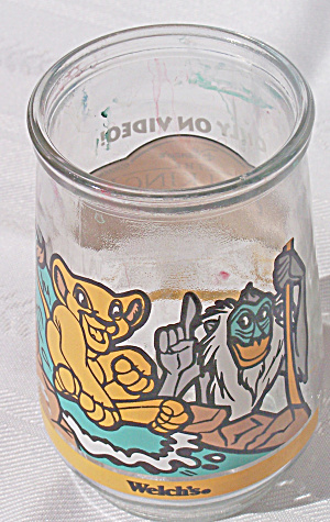 WELCHES LION KING SIMBA'S PRIDE JUICE GLASS (Image1)