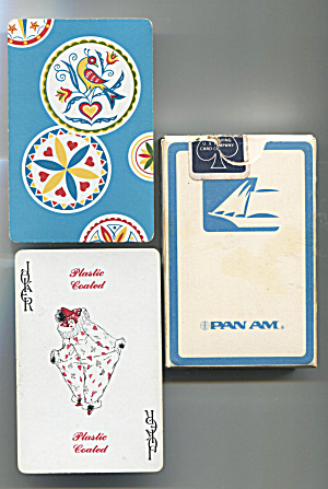 Deck Of Pan Am Playing Cards