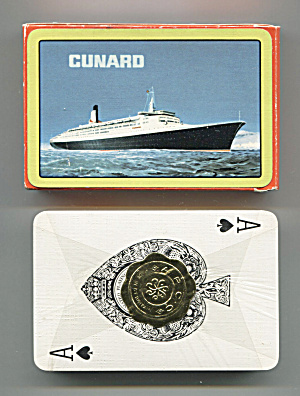 DECK OF CUNARD PLAYING CARDS (Image1)