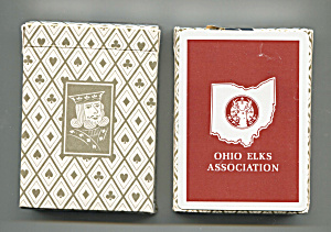 Ohio Elks Association Playing Cards