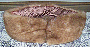 Mink-type Fur Collar