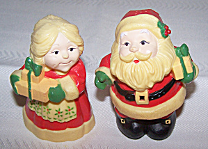 Hallmark Mr. & Mrs. Claus Salt & Pepper Shakers