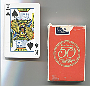 DELTA AIR LINES PLAYING CARDS (Image1)