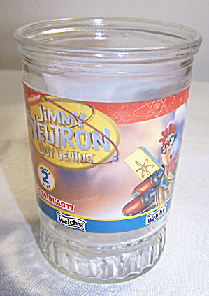 WELCH'S JIMMY NEUTRON #2 GLASS, GOTTA BLAST! (Image1)