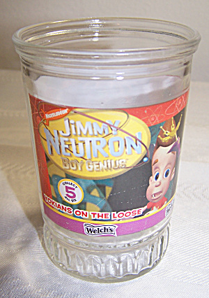 WELCH'S JIMMY NEUTRON #5 GLASS, VOKIANS ON THE LOOSE (Image1)