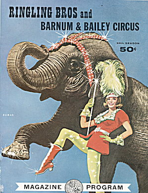 Ringling Bros, Barnum & Bailey Circus Program, 1964