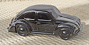Avon Glass Black Car Decanter