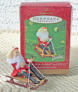Hallmark Barbie & Kelly Ornament