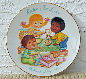 1993 AVON MOTHER'S DAY PLATE (Image1)